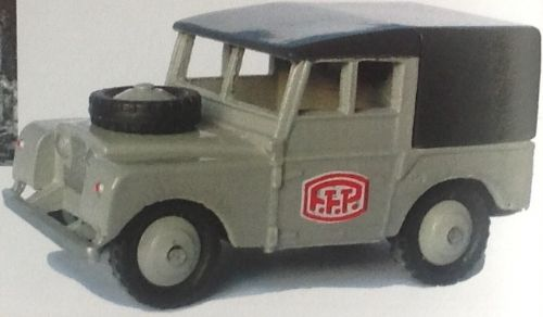 CLUB DINKY FRANCE MODEL No. CDF56 LAND ROVER PTT